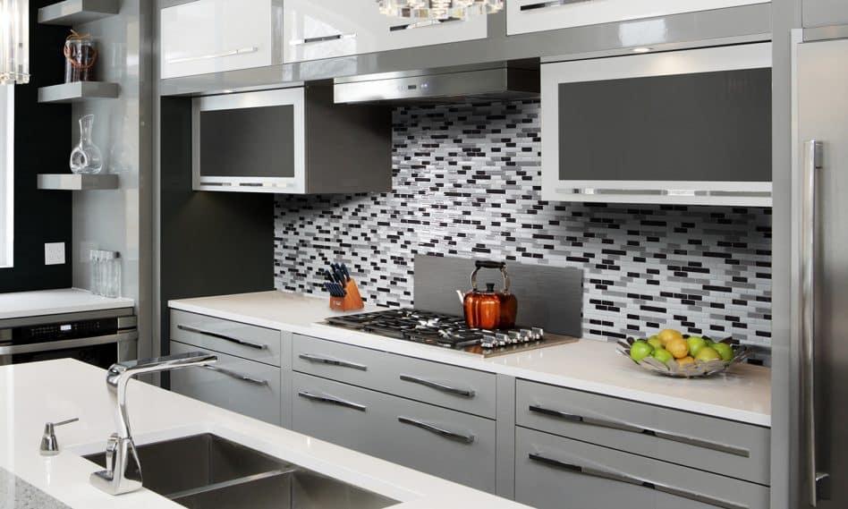 cuisine ferm e ou ouverte comment choisir passions maison. Black Bedroom Furniture Sets. Home Design Ideas