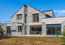 chantier construction maison