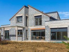 chantier construction maison