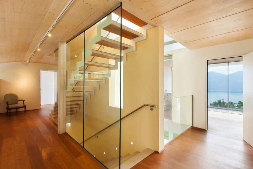 amenagement maison verre